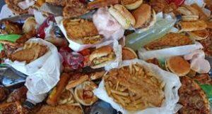 comida no sana