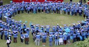 circulo azul personas